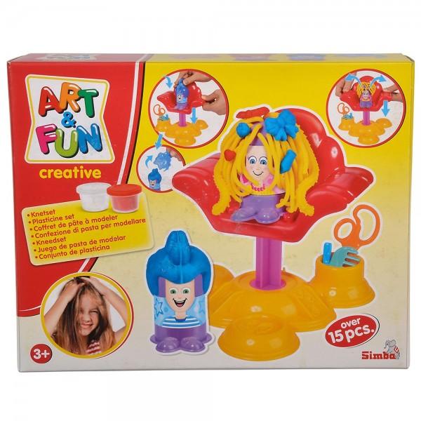 Jucarie Simba Hair studio Art and Fun Dough