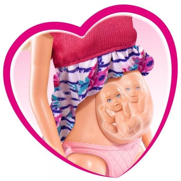 Papusa Simba Steffi Love Welcome Twins 29 cm cu accesorii