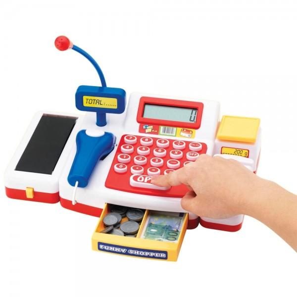 Jucarie Simba Casa de marcat cu scanner
