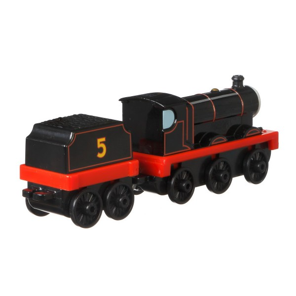 THOMAS LOCOMOTIVA CU VAGON PUSH ALONG ORIGINAL JAMES