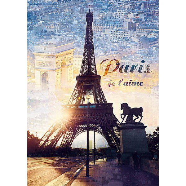 PUZZLE TREFL 1000 PARIS IN ZORI