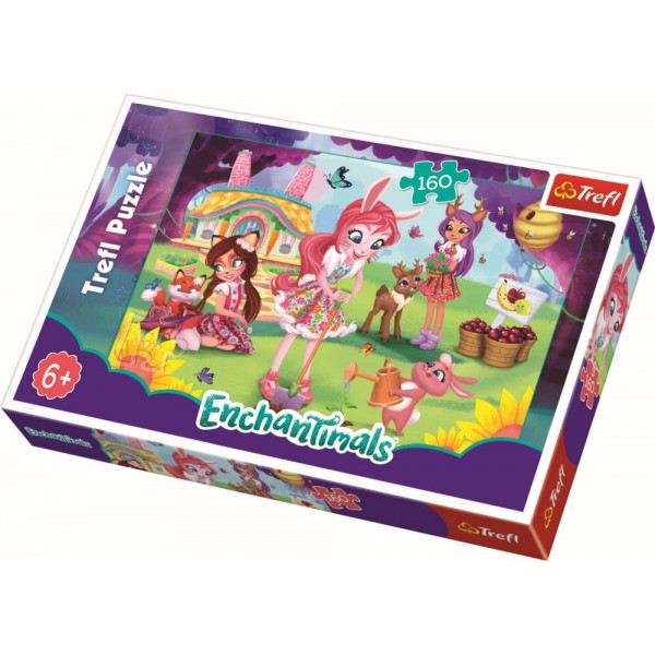 PUZZLE TREFL 160 ENCHANTIMALS
