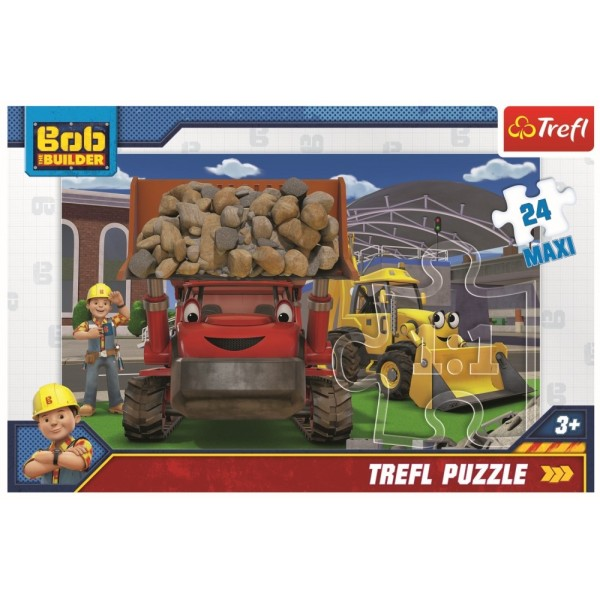 PUZZLE TREFL 24 MAXI BOB CONSTRUCTORUL