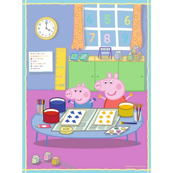 PUZZLE TREFL 2IN1 MEMO PEPPA PIG