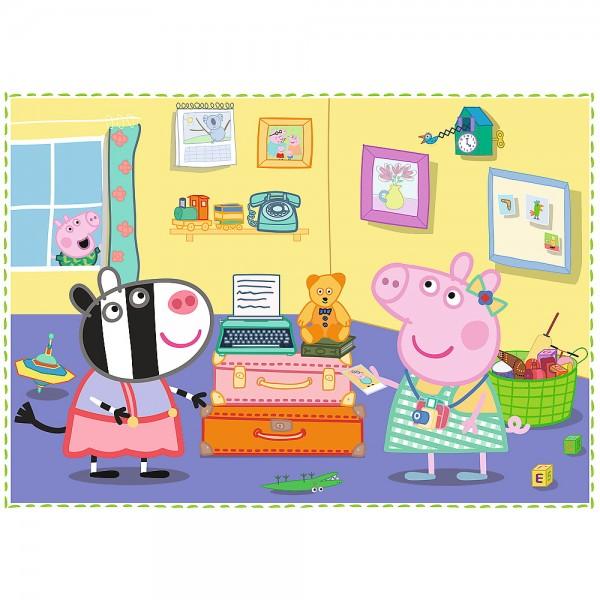PUZZLE TREFL 4IN1 PEPPA PIG
