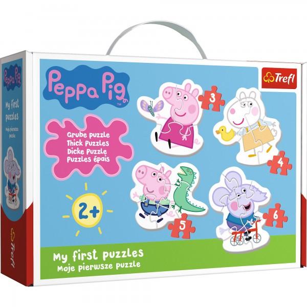 PUZZLE BABY CLASIC SIMPATICA PEPPA PIG