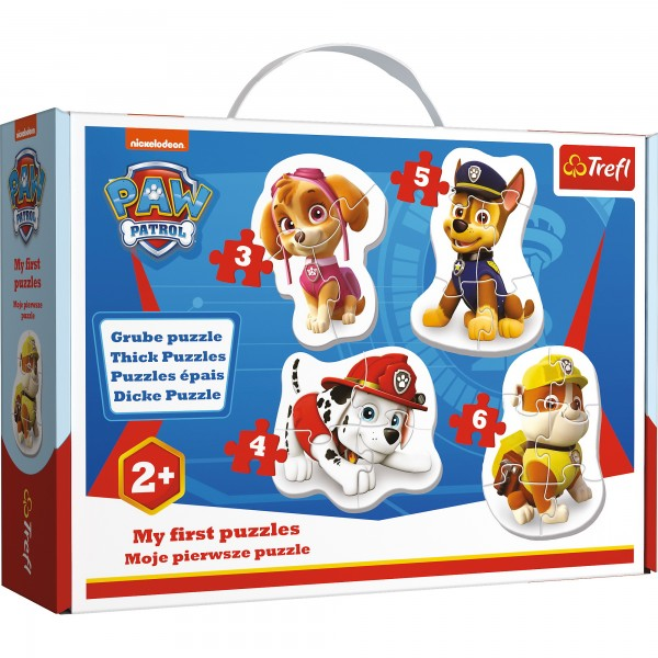 PUZZLE BABY CLASIC SKYE MARSHALL CHASE SI RUBBLE
